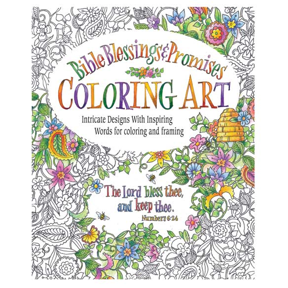 Blessings & Promises Coloring Book