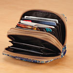 Quilted RFID Wallet
