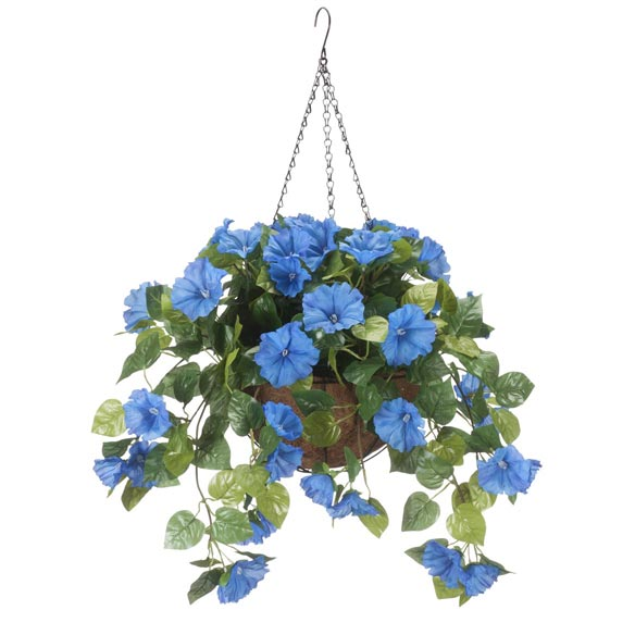 Fully Assembled Petunia Hanging Basket - View 1