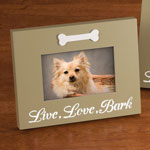 Pets - LED Live, Love, Bark Picture Frame