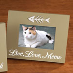 Pets - LED Live, Love, Meow Picture Frame
