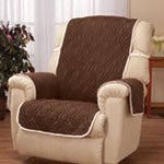 Decorations & Accents - Deluxe Reversible Waterproof Recliner Chair Cover