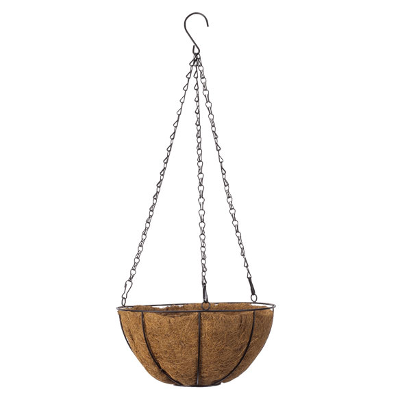 "10"" Coco Wire Hanging Basket by OakRidge Outdoor™"