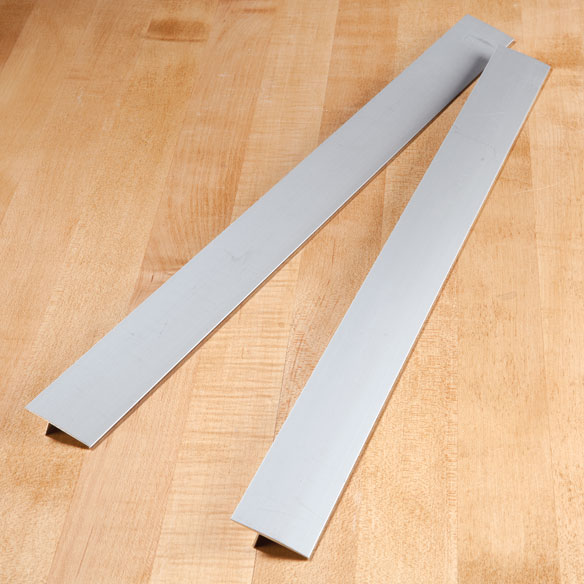 Gap Cap for Stovetops - Aluminum - Set of 2