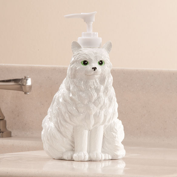 Playful Cat Soap Dispenser