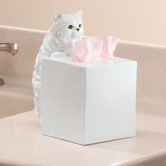 Playful Cat Tissue Holder