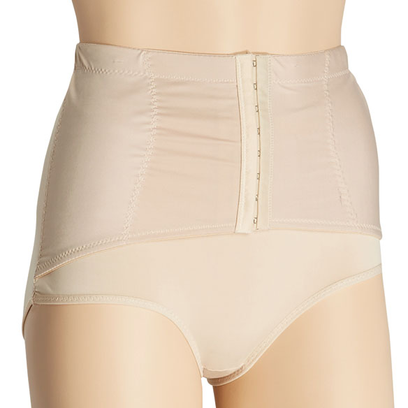 Ladies Brief with Firm Control Belt - View 1