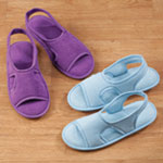 Footwear & Hosiery - Terry Memory Foam Slipper