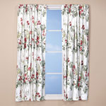 Bedroom Basics - Ruby Meadow Energy Saving Curtains