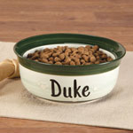 Pets - Personalized Ceramic Pet Dish
