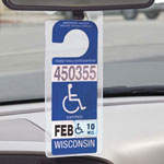 Auto & Travel - Handicap Placard Hanger, Set of 2