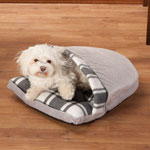 Pets - Grey Slipper Pet Bed