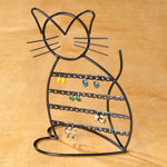 Jewelry & Accessories - Cat Shaped Earring Holder