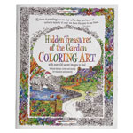 Hobbies - Adult Hidden Treasures of the Garden Coloring Book