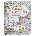 Hobbies - Adult Book of Friendship Coloring Book