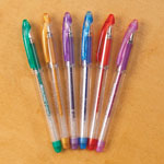 New - Scented Glitter Gel Pens, Set of 6
