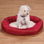 Pets - Round Red Pet Bed