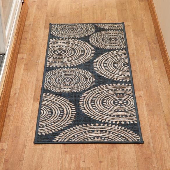 Aztec Print Accent Rug - View 1