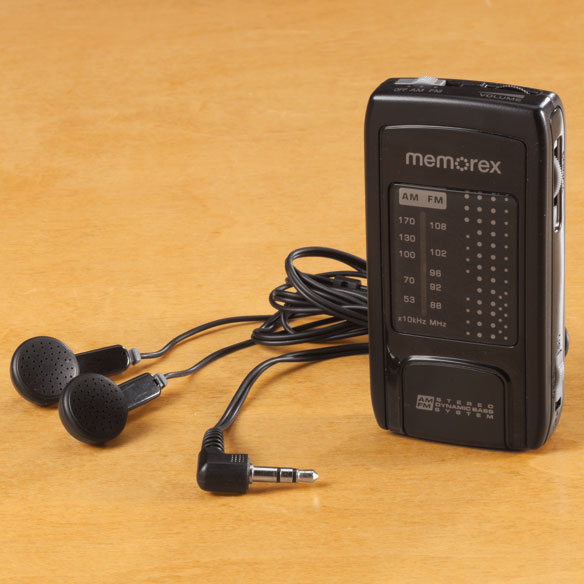 Memorex AM/FM Pocket Radio