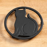 Organization & Decor - Black Cat Trivet