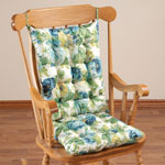 Decorations & Accents - English Floral Microfiber Rocking Chair Set by OakRidge Comforts™