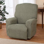New - Stretch Heather Recliner Cover