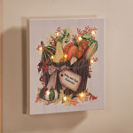 Holidays & Gifts - Personalized Lighted Harvest Canvas by Northwoods Illuminations™