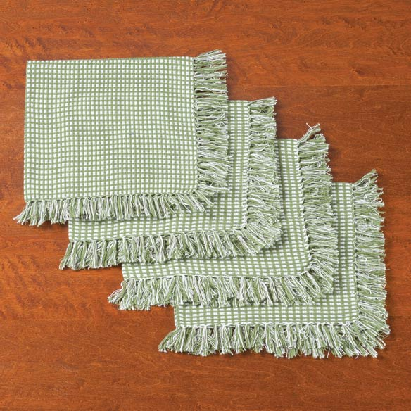 Homespun Woven Napkins, Set of 4 - View 1