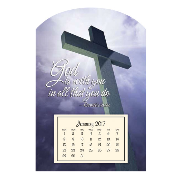 Mini Magnetic Calendar–Cross
