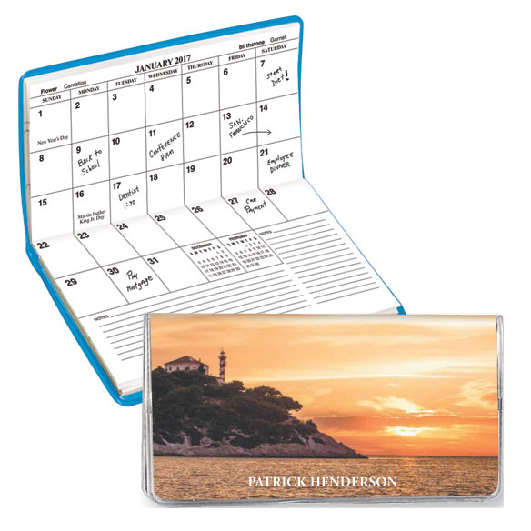 Personalized 2 Yr. Planner Lighthouse