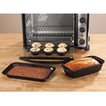 Home-Style Kitchen - Toaster Oven Baking Pans Set of 3 by Home-Style Kitchen ™