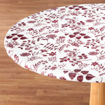Table Top & Entertaining - Flowing Flowers Vinyl Elasticized Table Cover