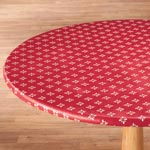 Table Top & Entertaining - Heritage Vinyl Elasticized Table Cover