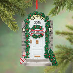 Ornaments - Personalized Front Door Ornament