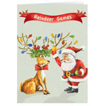 Christmas Cards - Reindeer Games