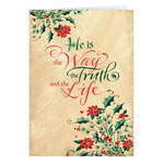 Christmas Cards - He is the Way