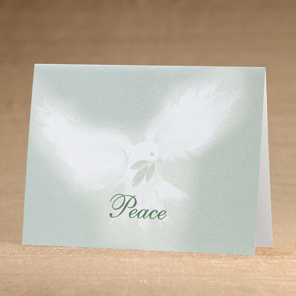 Peaceful Offering Holiday Cards - Set of 18 - View 1