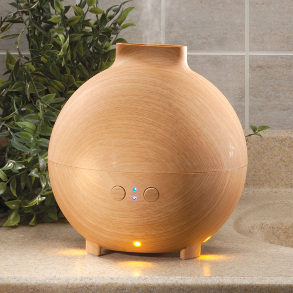 Lighted Essential Oil Diffuser & Humidifier - 600 ml