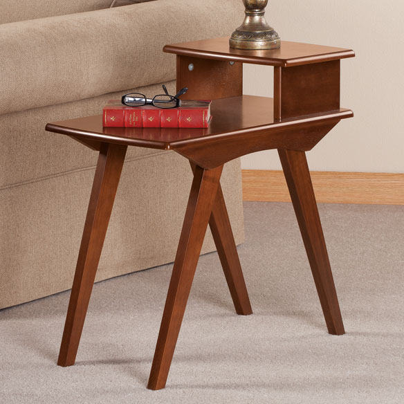 Two-Tier End Table by OakRidge Accents™ - View 1