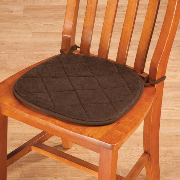 Memory Foam Chair Pads, Set of 2