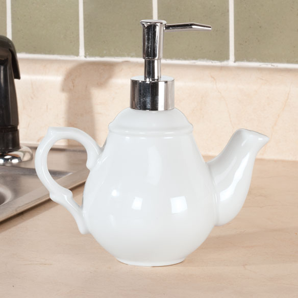 Teapot Shaped Soap Dispenser