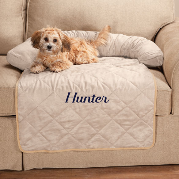 Personalized Couch Protector - View 1