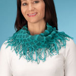 New - Fringe Knit Scarf