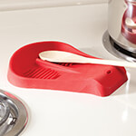 View All Sale - Silicone Double Spoon Rest by Home-Style Kitchen