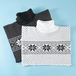 Comfort Clothing - Snowflake Sweater Dicky - Set of 2
