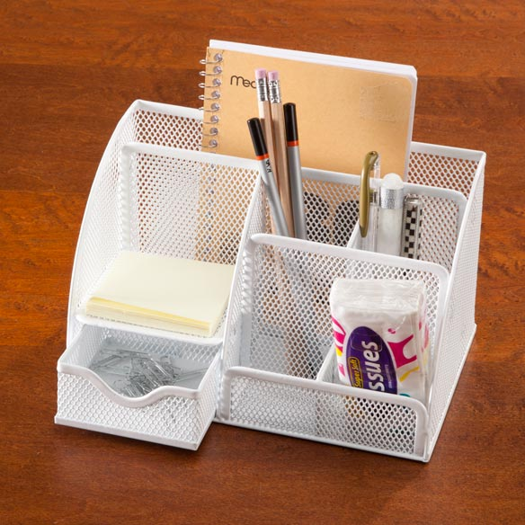 Mesh Wire Desktop Organizer - View 1