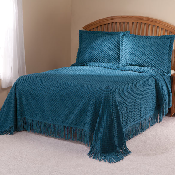 The Nancy Chenille Bedspread by East Wing Comforts™ - View 1