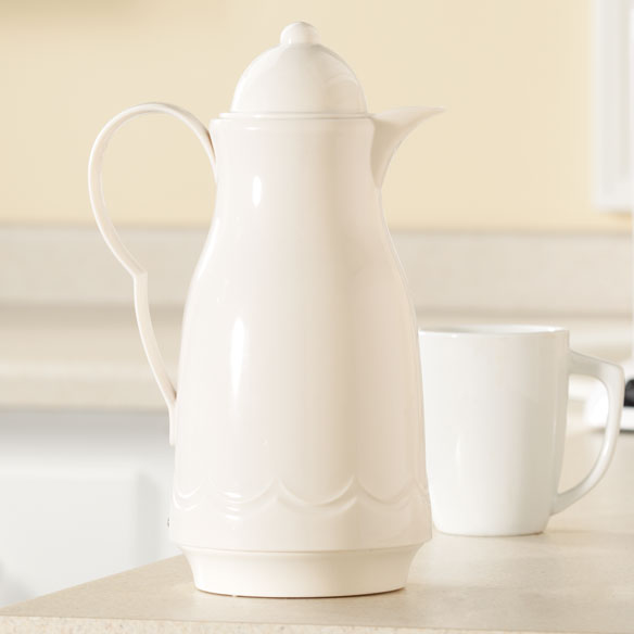 White Coffee Carafe