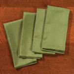 Table Top & Entertaining - Green Fabric Napkins - Set of 4
