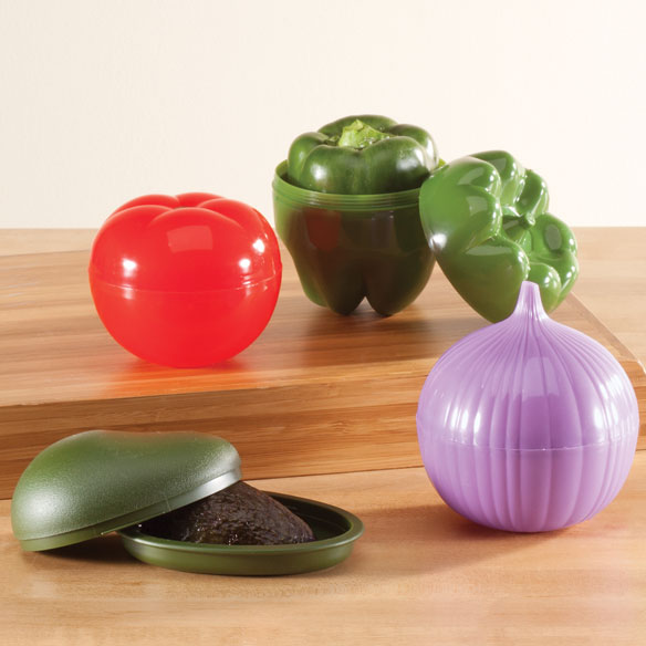 Vegetable Keepers, Set of 4